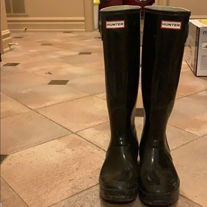 Hunter boots, open to offers!
